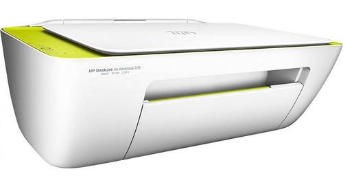 impressora a cor multifuncional hp deskjet ink advantage 2136 110v/220v branca