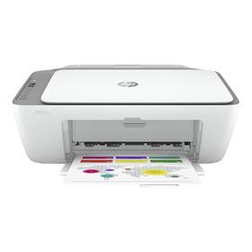 Impressora A Cor Multifuncional Hp Deskjet Ink Advantage 2776 Com Wifi 100v/240v Branca E Cinza