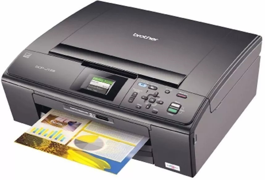 BROTHERS PRINTER DCP-J125 WINDOWS DRIVER