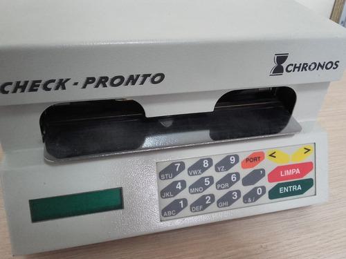impressora de cheque chronos