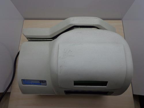 impressora de cheques chronos check pronto plus com defeito