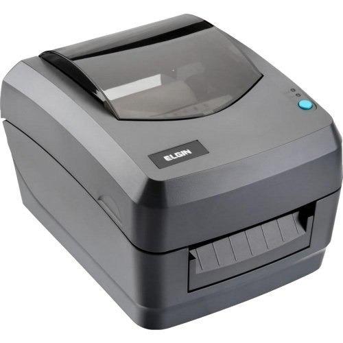 impressora de código de barras usb/serial l42 preta elgin