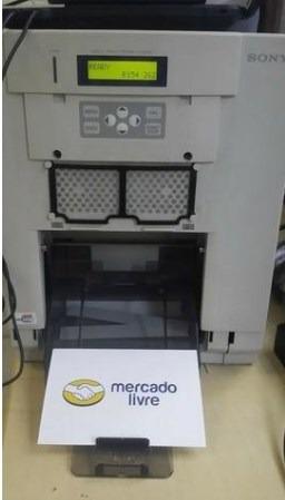 impressora de fotos sony - up dr150