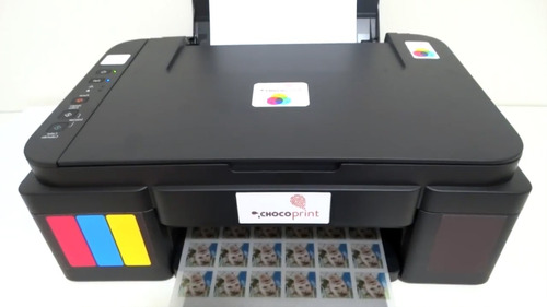 impressora de transfer para chocolate  a4 multif. chocoprint
