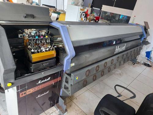 impressora digital flora plotter 8 cab seminova oportunidade