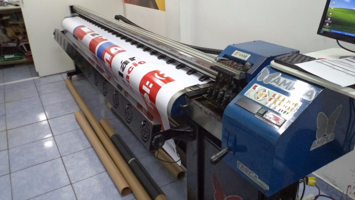 f5d3a6228ce3f impressora digital solvente - ampla targa 3208 plus 3,20m. Carregando zoom.