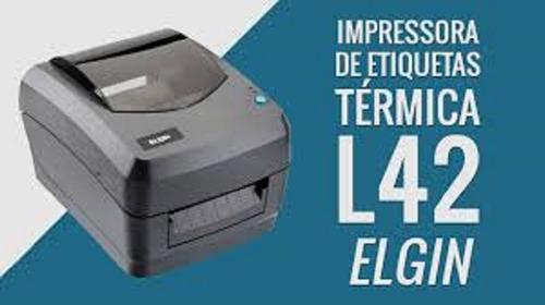 impressora elgin l42 de codigo de barras