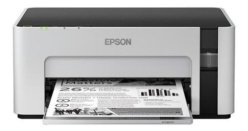 impressora epson ecotank m1120 monocromática,cabo usb,bivolt