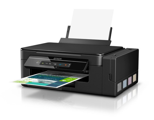 impressora epson l395 com tinta sublimática + brinde
