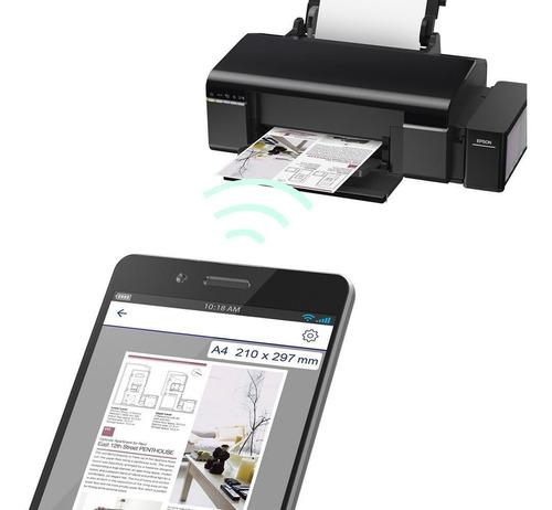 impressora epson l805 tanque de tinta fotográfica, 110v
