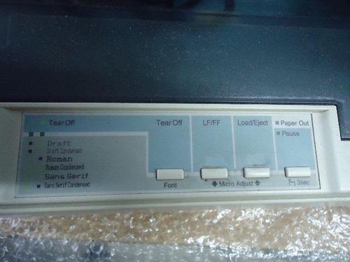 impressora epson lx-300+ii matricial