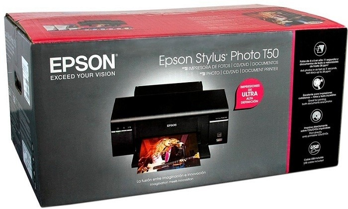 Epson T50 driver impresora. Descargar software gratis