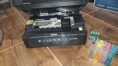 impressora epson tx235w (sem cabeçote) + bulk ink completo
