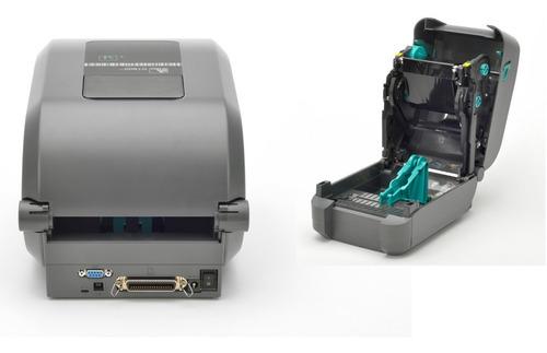 impressora etiqueta zebra  gt800 203dpi usb serial rede