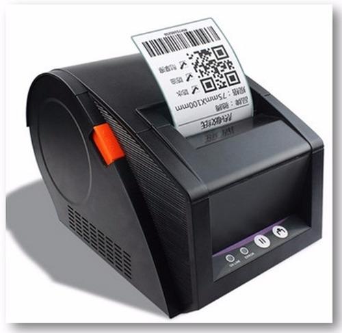 impressora etiquetas termica codigo de barras qr code 80mm