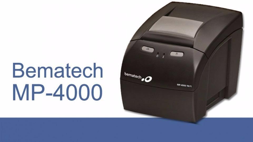 BEMATECH MP-4000 TH TREIBER WINDOWS XP
