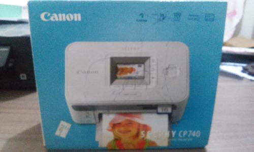 impressora fotografica canon selphy cp740