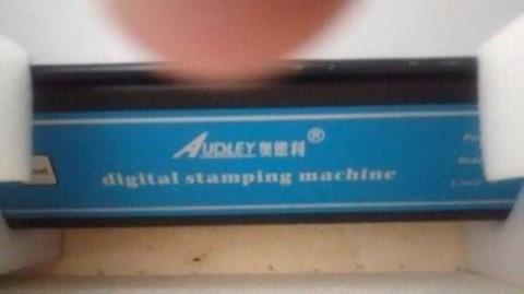 impressora hot stamp digital audley 3050a