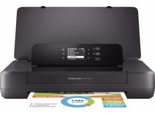 impressora hp 200 portatil - mobile/officejet/wi-fi direct/