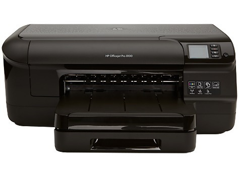 impressora hp 8100 com cabeça de impressao e cartuchos