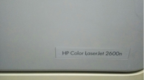 impressora hp - color laserjet 2600n