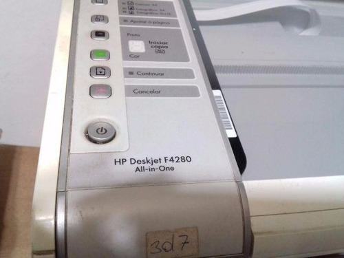 impressora hp deskjet f4280 - sem cartuchos