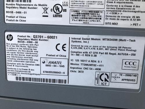 impressora hp laserjet m3035xs lote / 5 peças