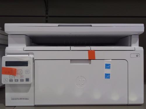 impressora hp mfp laserjet pro m130 nw  110v