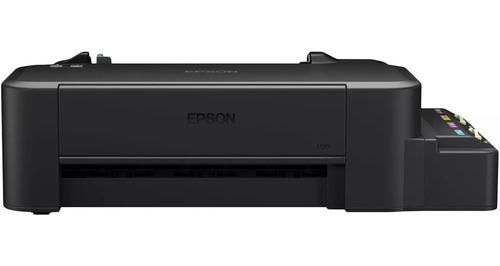 impressora jato tinta epson ecotank l120  sem tintas vitrine