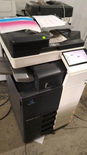 impressora konica minoltac308 - color