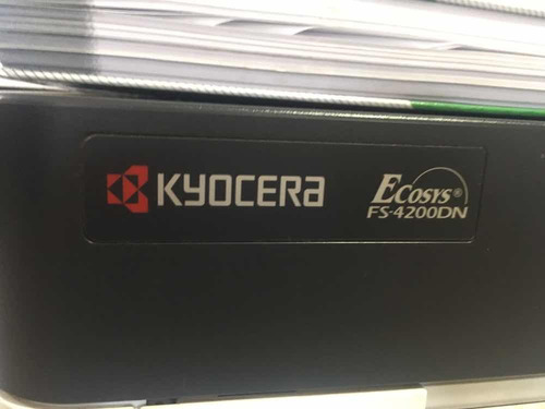 impressora kyocera fs4200