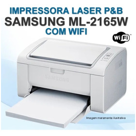 Impressora Laser Samsung Ml-2165w + Wifi.   ( 05 Vendidas )