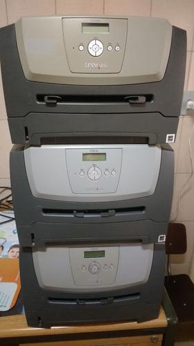 impressora lexmark e352dn usada necessita revisão