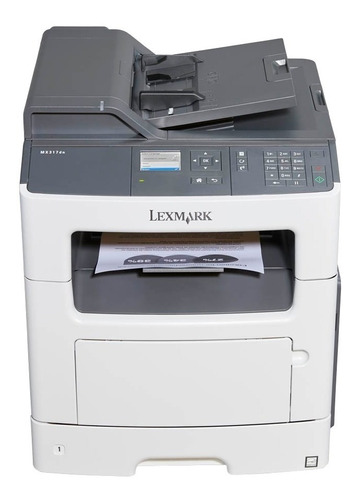 impressora lexmark mx317dn multifuncional laser mono mx-317