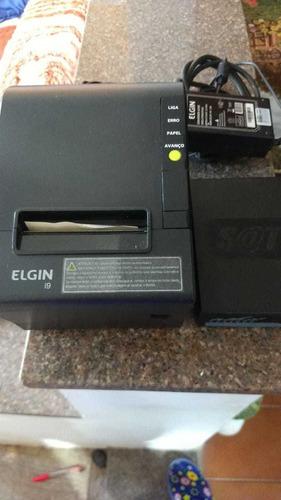 impressora mais sat,apenas 1 semana de uso