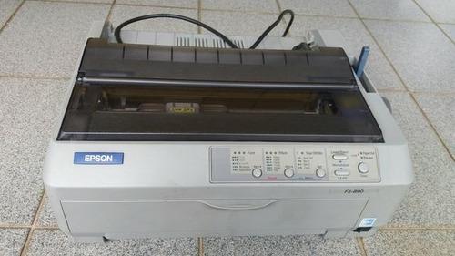 impressora matricial  epson fx-890 e frete grátis