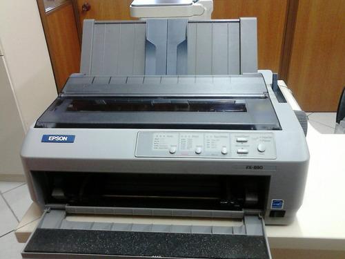 impressora matricial epson fx 890 (formulários)