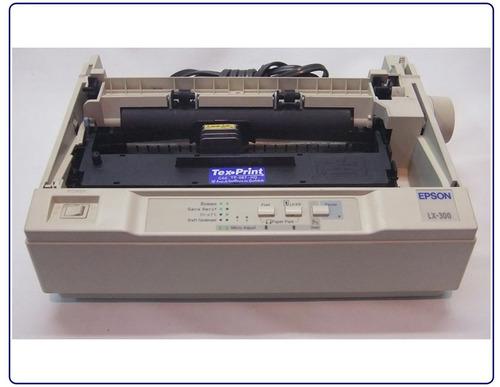 impressora matricial epson lx 300  usada