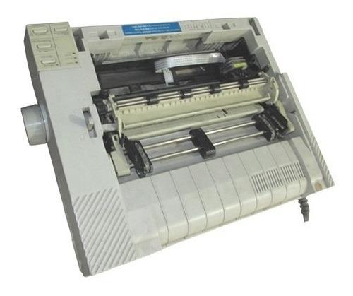 impressora matricial modelo p80sa + cabos (usada) !!!