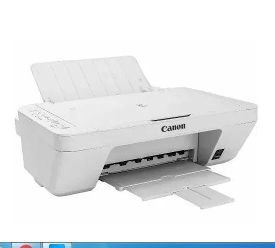 57c1f6fef Impressora Multifuncional Branca Canon Pixma Mg2410 Sem Ca - R  80 ...