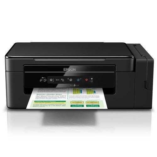 impressora multifuncional epson tanque de tinta l396 wifi