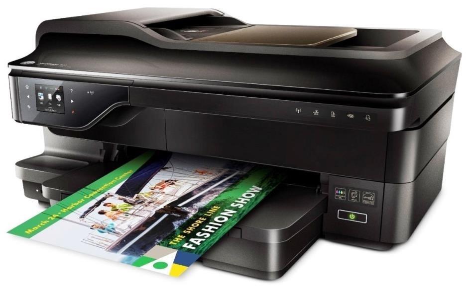 Impressora Multifuncional Hp 7612 A3 Bulk Ink Papel