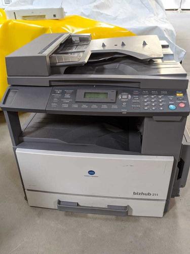 impressora multifuncional konica minolta biz hub 211