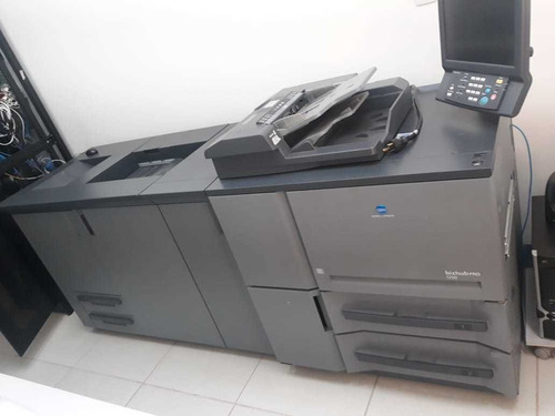 impressora multifuncional  konica minolta bizhub pressbh1200