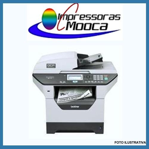 impressora multifuncional laser brother dcp8065dn 8065
