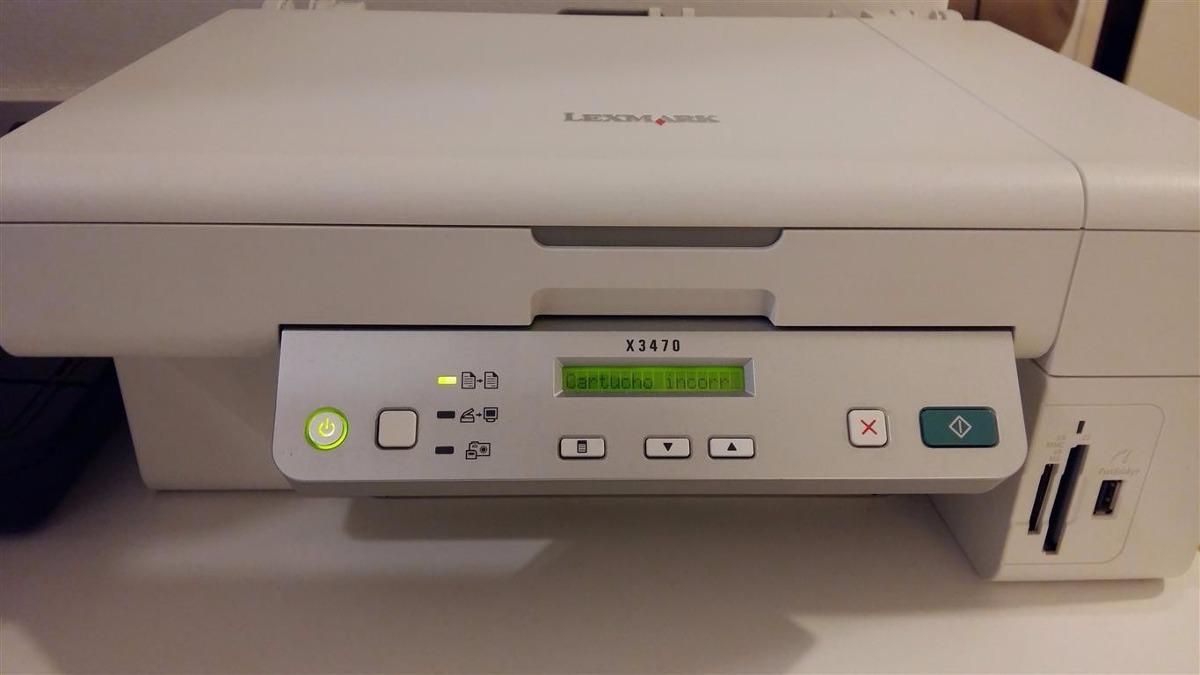 software lexmark x3470