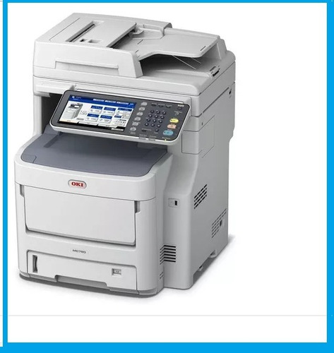 impressora multifuncional okidata mc-780 color (nova).