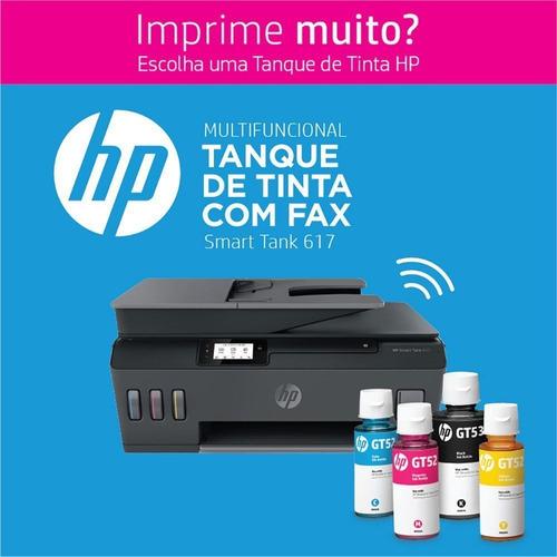 impressora multifuncional tanque de tinta wireless 617 hp