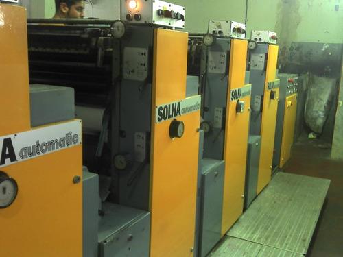 impressora off-set solna 464 - 4 cores