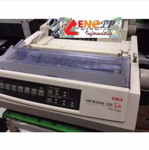 impressora oki microline 320 turbo sem cabos